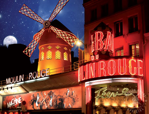 Moulin Rouge and Toulouse Lautrec Dinner