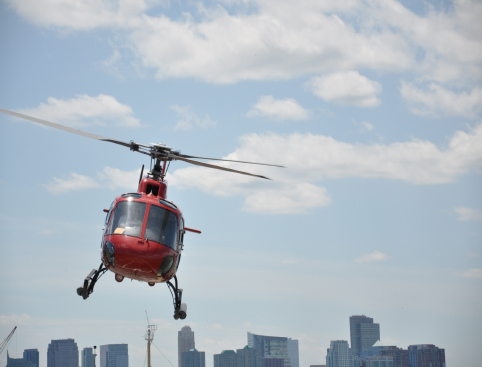 New York New York Helicopter Flight- Helicopter Greeting