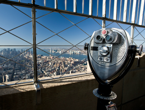 Empire State Building Viewfinder
