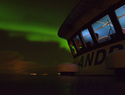Boat tour Northern Lights Iceland