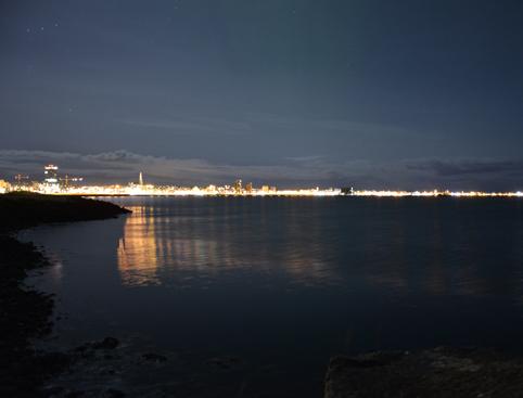 Northern Lights Skyline Iceland
