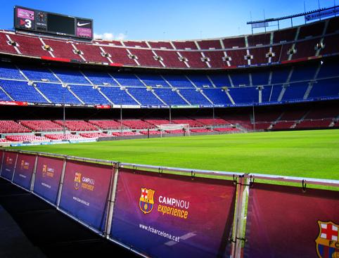 Nou Camp Tour - Barcelona FC