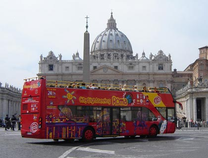 Hop On Hop Off Rome Bus Tour