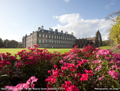 Palace of Holyroodhouse and Garden