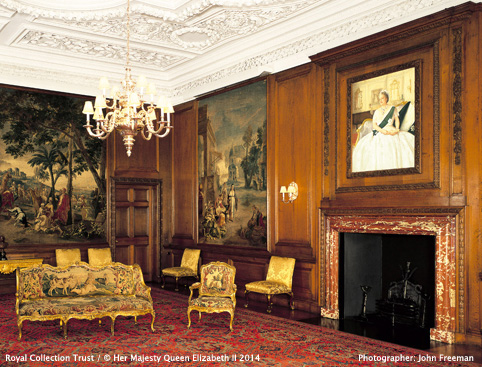 Palace of Holyroodhouse- The Evening Drawing Room