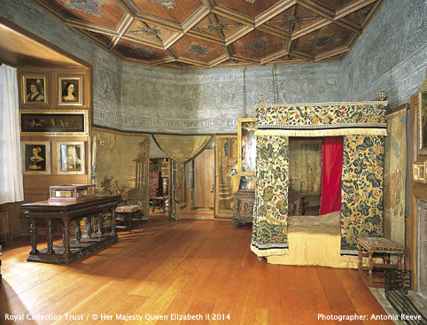 Palace of Holyroodhouse- Mary, Queen of Scots' Bedchamber