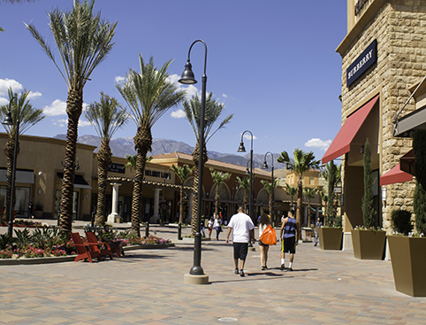 Palm Springs Outlet Shopping