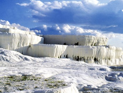 Pamukkale from Bodrum