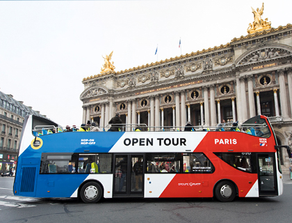 Paris Hop On Hop Off & Boat Tour