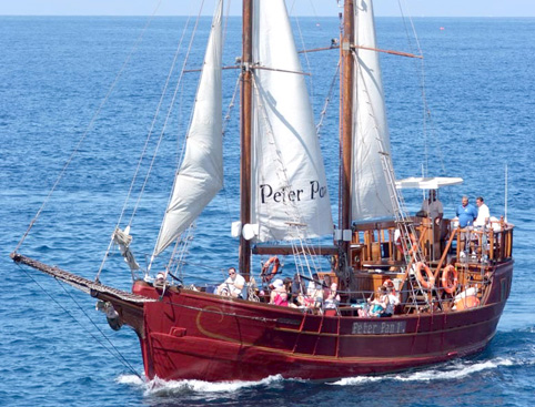 Peter Pan Sailing Ship