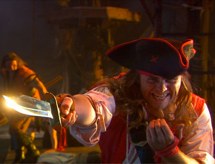 Pirates Dinner Adventure Orlando- Cutthroat Jack Taunts