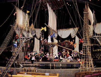 Pirates Dinner Adventure Orlando- Pirates Aboard The Galleon