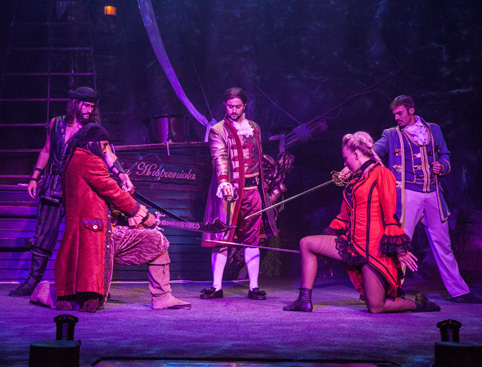 Pirates Adventure Dinner Show Mallorca- Acrobatics