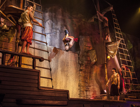 Pirates Adventure Dinner Show Mallorca- Sword Fighting