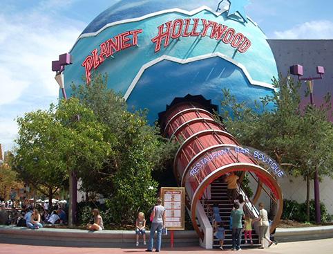 Planet Hollywood Meal Disneyland Paris