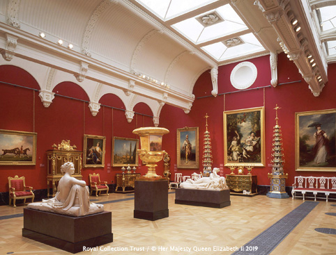 The Nash Gallery - The Queen's Gallery, Buckingham Palace