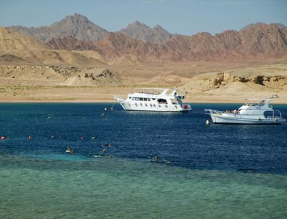 Ras Mohammed National Park - By Boat