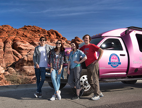 Pink Jeep Tours - Red Rock Canyon