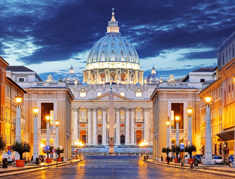 Rome Illuminations Tour