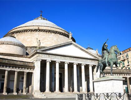 Rome To Naples & Pompeii Tour- Piazza Del Plebiscito