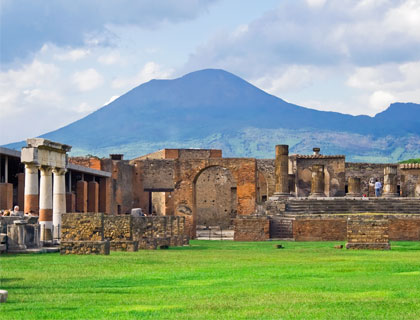 Rome To Naples & Pompeii Tour- Ancient Ruins Of Pompeii And Volcano Vesuvius