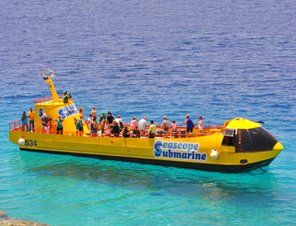 Seascope Semi Submarine From Sharm El Sheikh