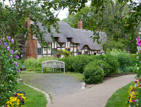 Anne Hathaway's Cottage-Family Home of Shakespeare's Wife