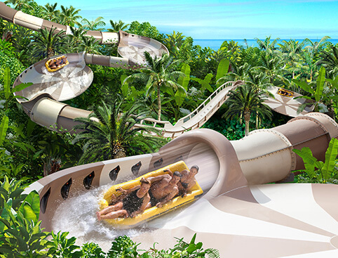 Siam Park and Loro Parque Twin Ticket