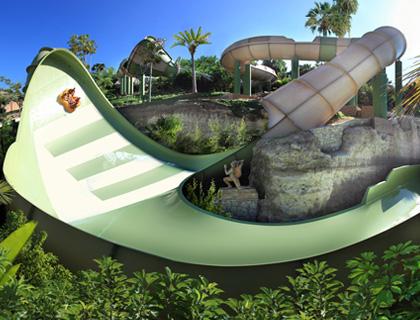 Siam Park ride