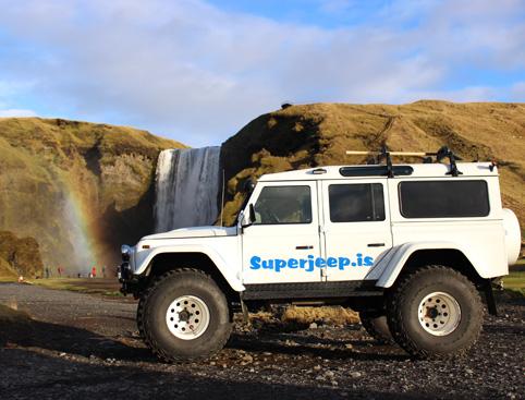 South Coast Eyjafjallajokull Volcano by Jeep