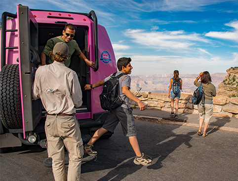 Pink Jeep Tour - Grand Canyon South Rim Classic