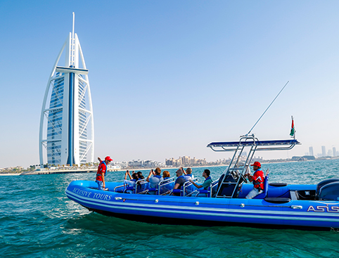 Speedboat Sightseeing Tour from Dubai Marina
