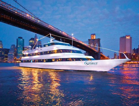 Spirit Dinner Cruise New York at Night