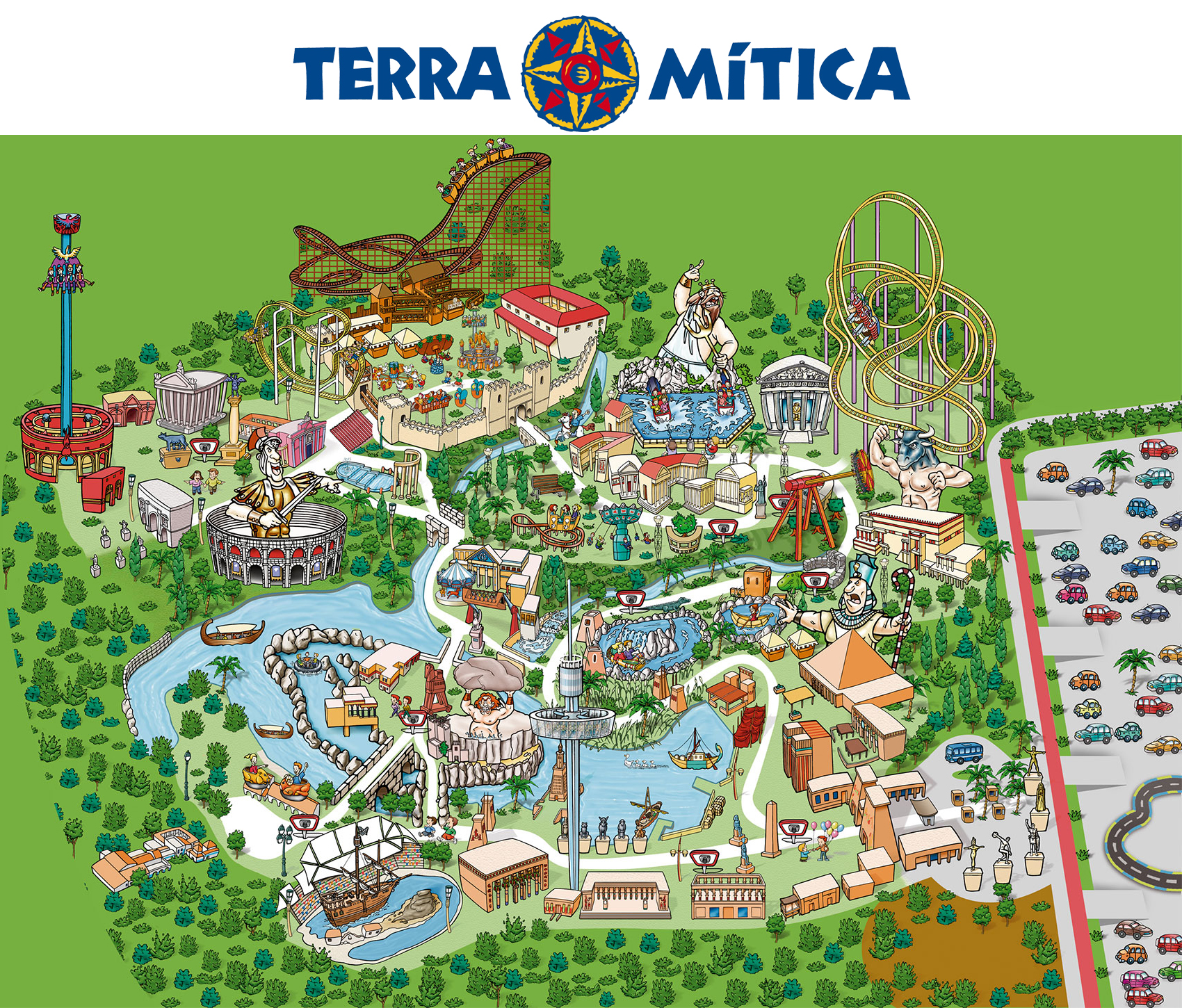 book cheap terra mitica benidorm tickets  attractiontix - terra mitica park map