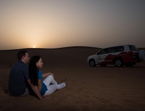 Sunset Dinner Safari Dubai