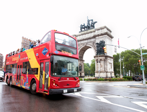 Super New York Tour- hop on hop off bus