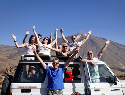 Tenerife Jeep Safari: Teide & Masca