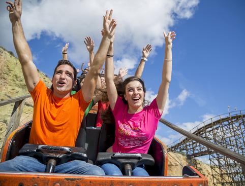 Terra Mitica Tickets- Titánide Rollercoaster