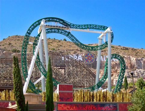 Terra Mitica Tickets- Alucinakis Rollercoaster