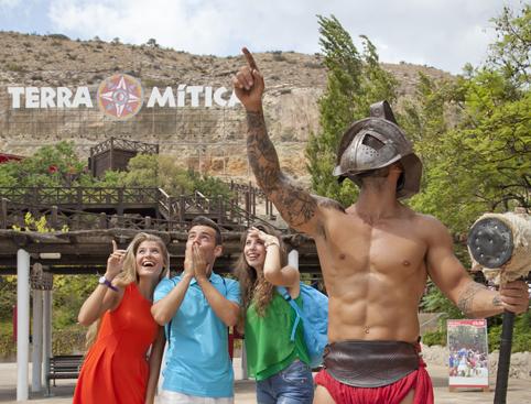 Terra Mitica Tickets- Inferno Rollercoaster