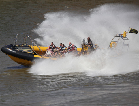 Thames Barrier RIB Experience