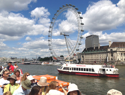 Tour Bus For Sale >> Thames River Cruise Hop On Hop Off - AttractionTix