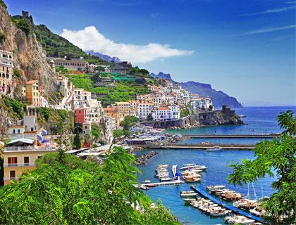 The Amalfi Drive from Sorrento- Amalfi