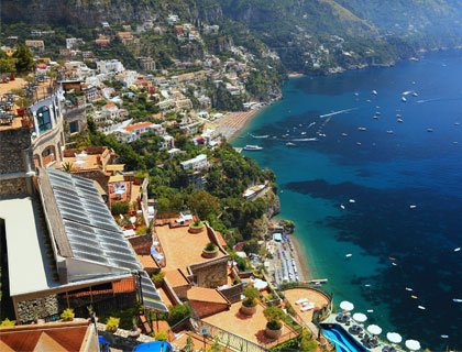 The Amalfi Drive from Sorrento- Positano