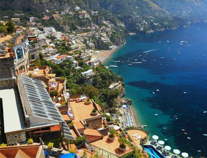 The Amalfi Drive from Sorrento- Positano
