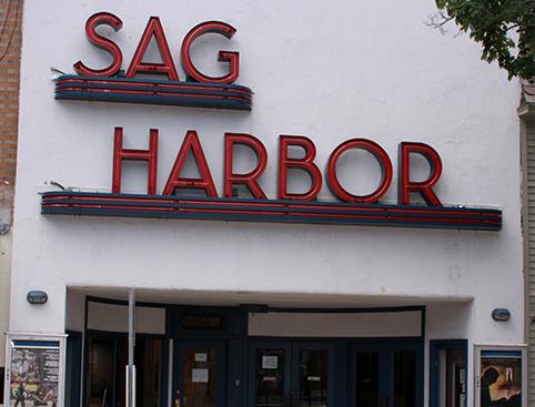 Sag Harbour sign