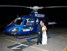 Vegas Nights Helicopter Wedding