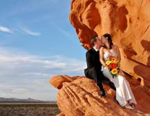 Wedding at the Valley of Fire