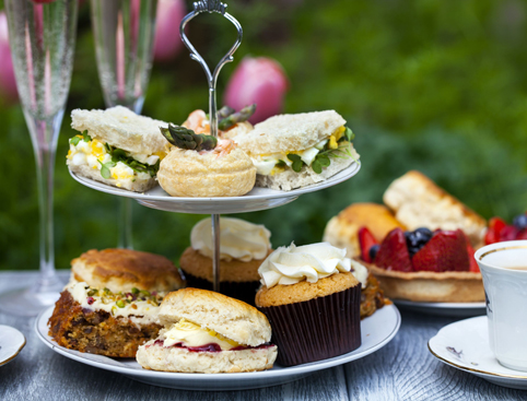 Traditional Bloomsbury Afternoon Tea- Scones And Cream