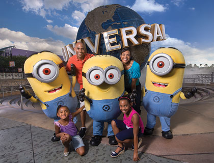 Universal Orlando Tickets- Despicable Me Characters At Universal Studios Florida